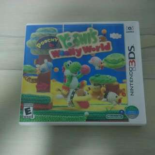 Yoshis Poochy & Woolly World Nintendo 3DS.