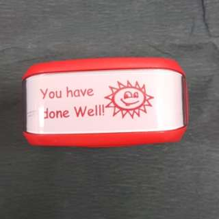 Teacher Stamp: You have done Well!