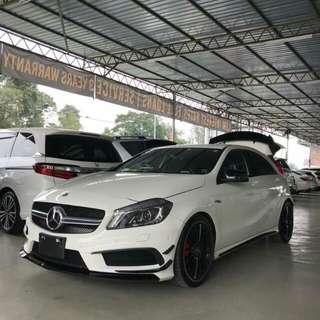 MERC BENZ A45 AMG EDITION 2