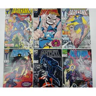 Darkhawk #16-21 (1991) Set of 6 Books