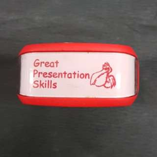 Teacher Stamp: Great Presentation Skills