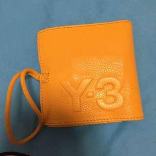 Y-3 黃色錢包