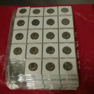 Sg1Cent-50 Cents 1967👍1985