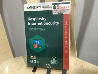 Kaspersky antivirus for 5 devices