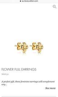 Flower Full Earrings LV
