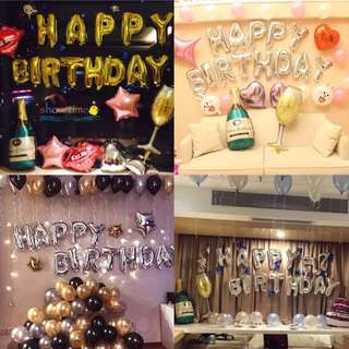 Happy Birthday Party Decoration