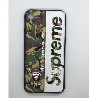 supreme camouflage case for iphone 7/8