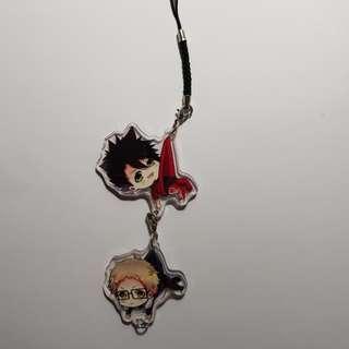 KurooTsuki acrylic charms