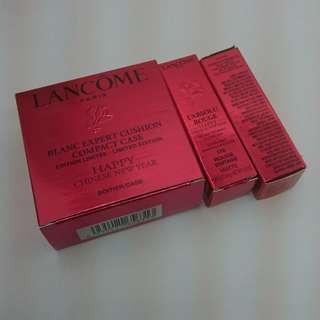 Lancome cushion compact & rouge