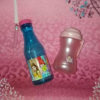 Straw Bottle & disney princess Tumbler