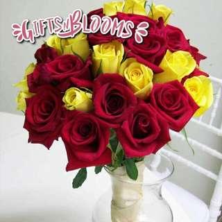 Fresh Flower Bouquet Surprise for Special Anniversary Birthday Gift V31 - MWRJQ