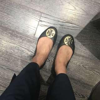 Tory Burch 平底 娃娃鞋 真皮 牛皮 平底鞋