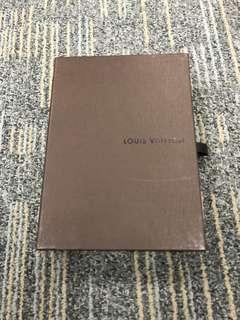 LV wallet box 銀包紙盒