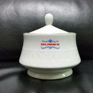 Vintage Dumex EAC Crockery Sugar Bowl