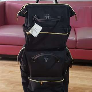 2 in 1 Luggage Backpack