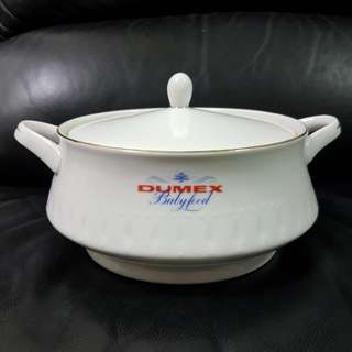 Vintage Dumex EAC Crockery Babyfood Porcelain Tureen