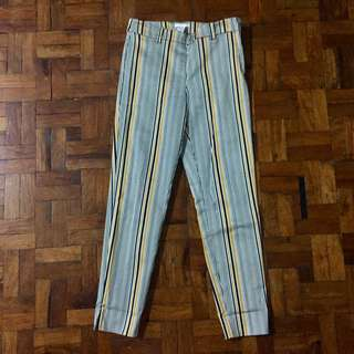 H&M Striped Pants High-waist
