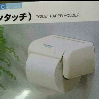 New Classic Toilet Paper Holder - Suction Form...Best Selling Item.