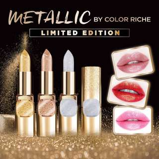 Limited Edition L'Oréal - Metallic by Color Riche in Silver Spice 630