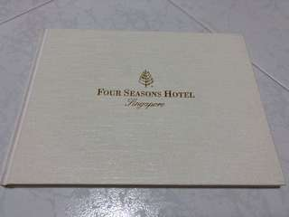 Four Seasons Hotel Guest Book