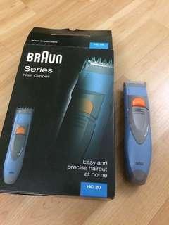 Braun Hair Clippper