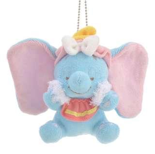 日本 Disney Store 直送 Dumbo 小飛象洗面系列公仔掛飾匙扣