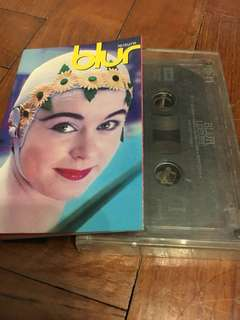 Collector's Item / BLUR Leisure Cassette Tape
