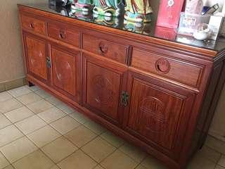 Rosewood Cabinet Side Board