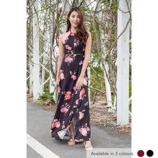 (PO) Bountiful Blooms Maxi Dress