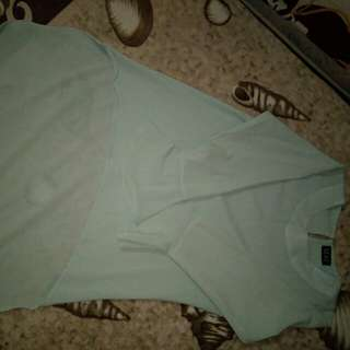 Penguin top Faded Mint