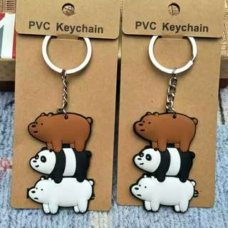 [BUY 2 FREE 1] We bear bears pvc keychain