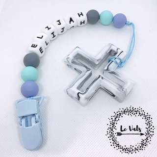 Pacifier clip w/ Teether