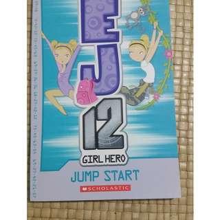 EJ 12 Girl Hero #2  Jump start  -  Susannah McFarlane
