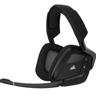 Corsair Void Pro RGB Wireless 7.1 Headset (Carbon Black / White)