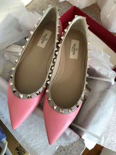Valentino pink shoes size 38