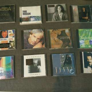 Music CDs on sale for S$1 each!