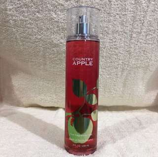 Bath And Body Works BBW Fine Fragrance Mist  COUNTRY APPLE 236 ml