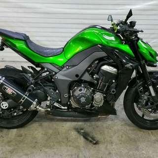 Kawasaki Till 06/2025 Z1000 ABS