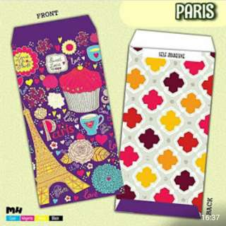 Paris Money Envelopes