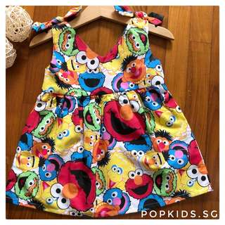 🍪INSTOCK - Sesame Street  Ribbon Dress 🍪