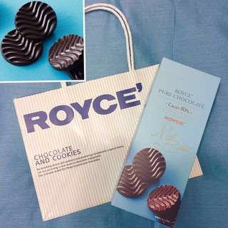 Royce Chocolate🇯🇵日本直送 Dark Chocolate 黑朱古力