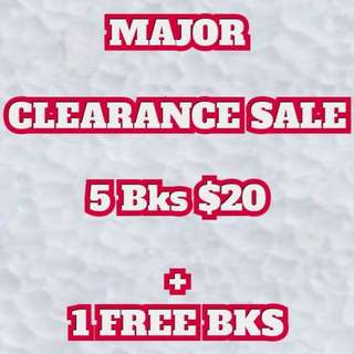 Malay Novel - Major Clearance Sale