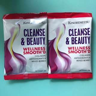 Kinohimitsu Cleanse and Beauty Wellness Smooth'D Powder Drink