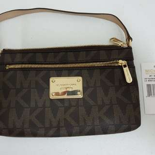 Preloved Michael Kors Wristlet Bag