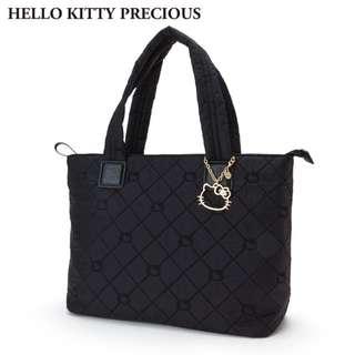 日本代購 sanrio 專門店 2018年 3月 hello kitty x PRECIOUS 皮革 手提袋3 ) (m)