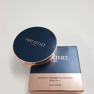 Pony effect cover fit powder foundation