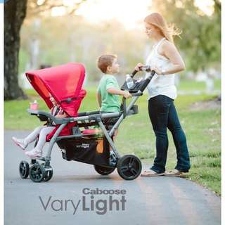 Joovy caboose varylight double stroller