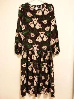 長身裙 Topshop Silk Dress