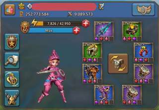 Lords Mobile T4 Acct