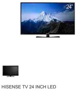 "Rush sale HISENSE 24"" LED tv"